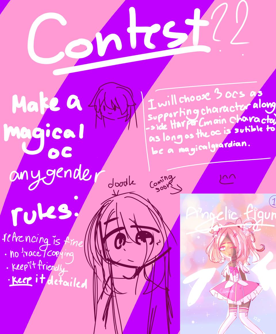Contest!! || desc || Illust of Ciinnanya! contest medibangpaint oc
