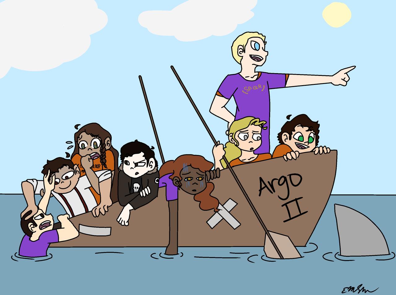 The 7 plus Nico - Draw the Squad - welp  | Illustrations - ART