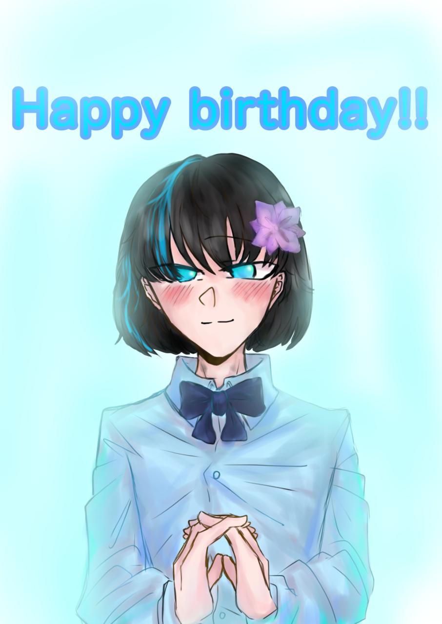 happy birthday‼︎ Illust of Scarlet friend impasto 大好き doodle 代理