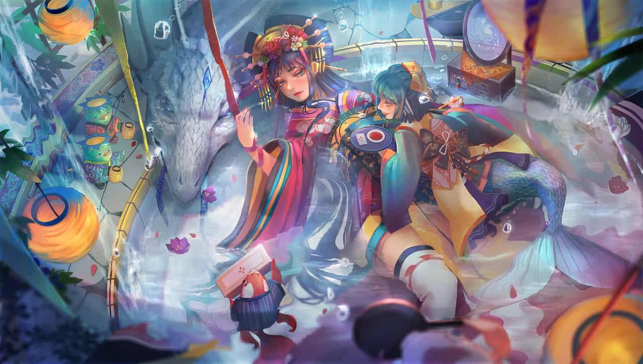 青妖魁妝 Illust of OneTara/壹魚 Kyoto_Award2020_illustration illustration kimono girl