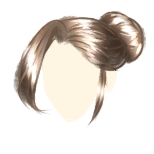 Tutorial for hair painting~ Illust of Kawaii Panda Post_Multiple_Images_Contest hair painting tutorial KawaiiPanda