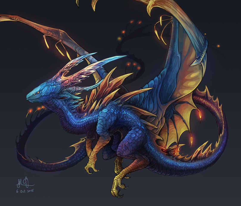 燈龍 Illust of 佳怡 CPoring fantasy dragon 龍 水龍