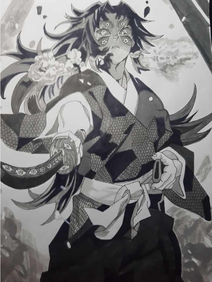 鬼滅の刃 Illust of soulmate0130 DemonSlayerFanartContest sketch fanart KimetsunoYaiba medibangpaint art illustration Artwork manga