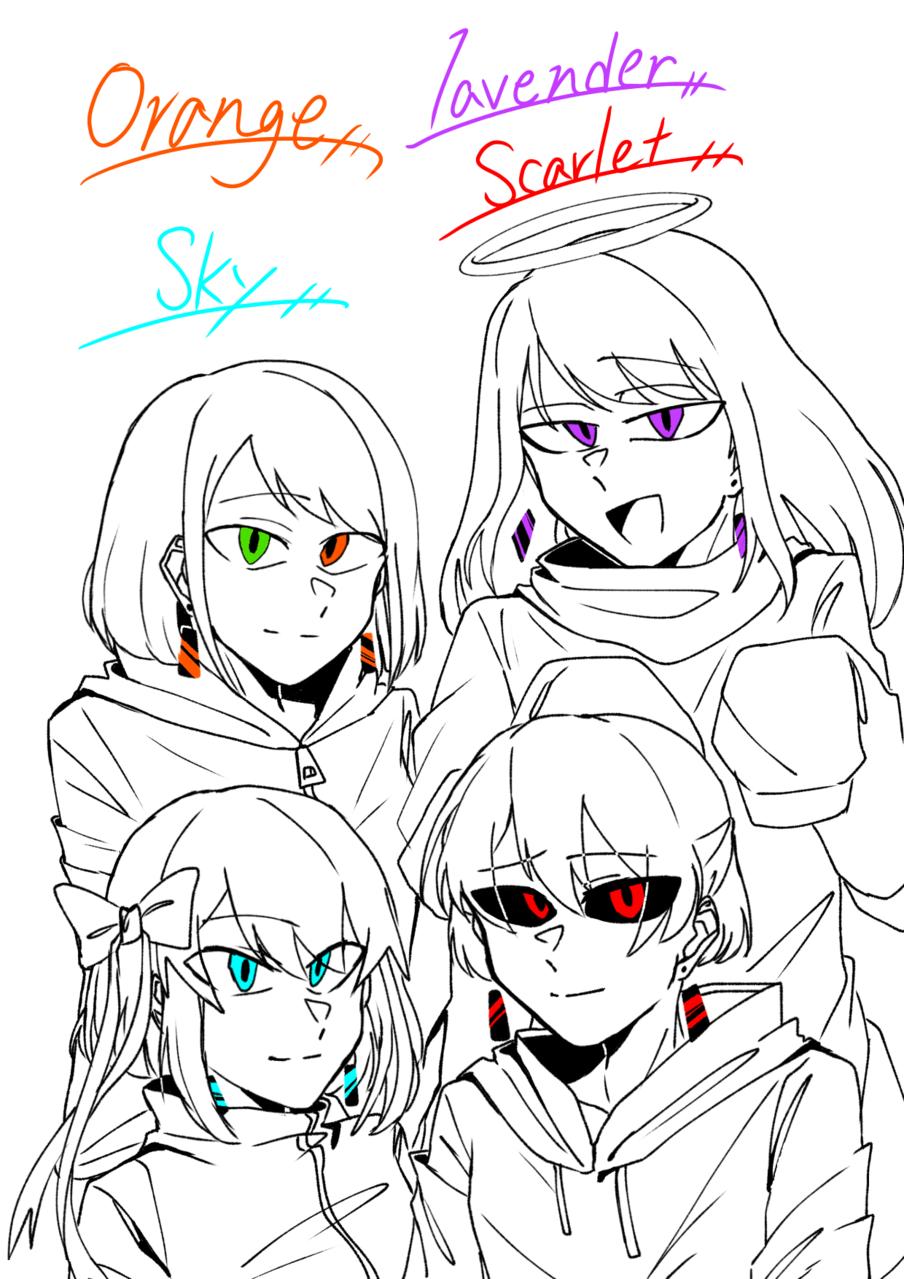 チョコミン 4 !!!!!!💕 Illust of Scarlet 適当 幸せ 愛してる friend doodle impasto 代理 大好き 好き