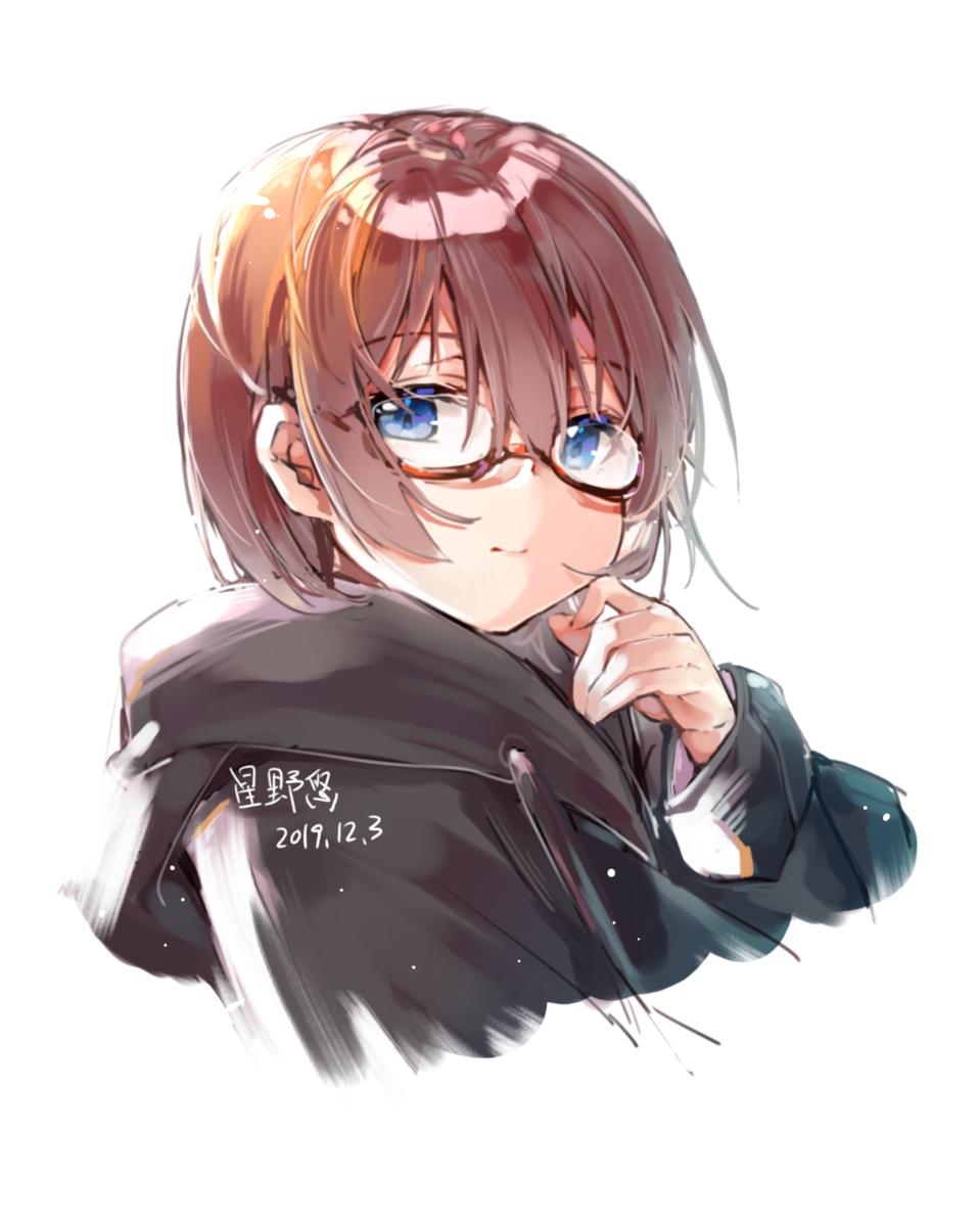 Illust of kitere medibangpaint glasses