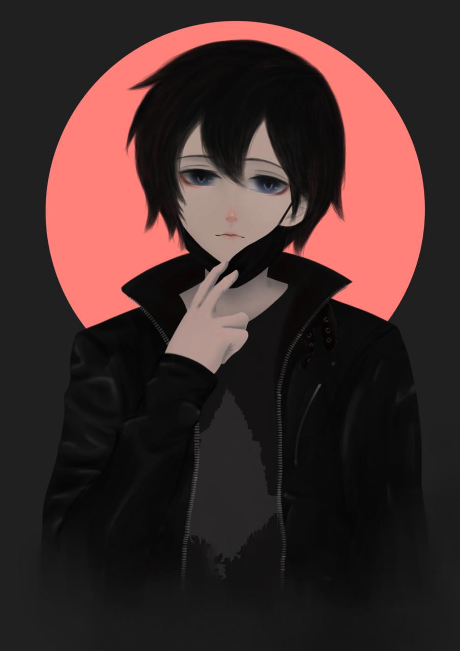 Kirito Kirigaya Illust of Saito ARTstreet_Ranking black anime Sword_Art_Online cool male Saitobigay animefanart Kirito