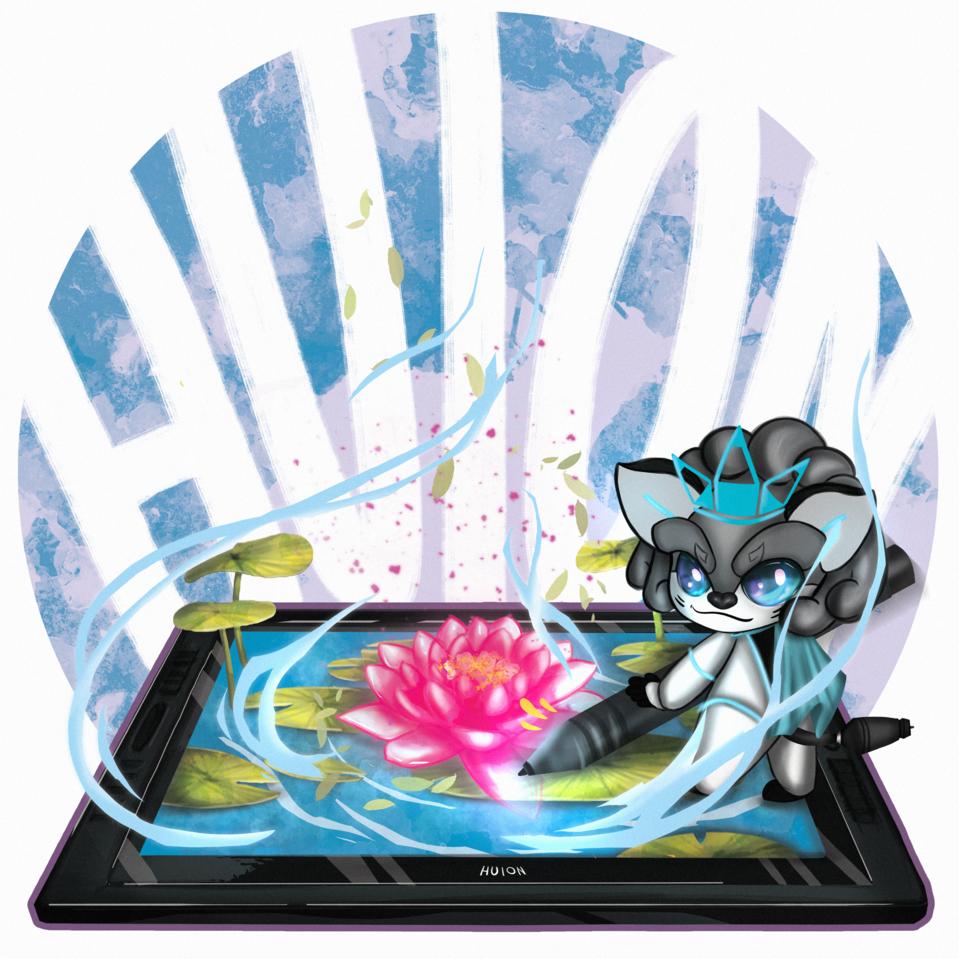 Enlightenment Illust of lilavendree HuionDesign lotus original huion originalart