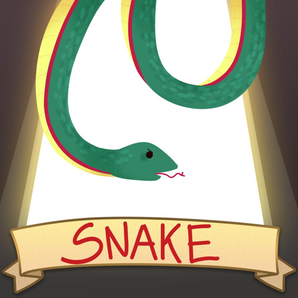 Snake SO BAD IT'S GOOD Illust of CeleCHIN SoBadItsGood