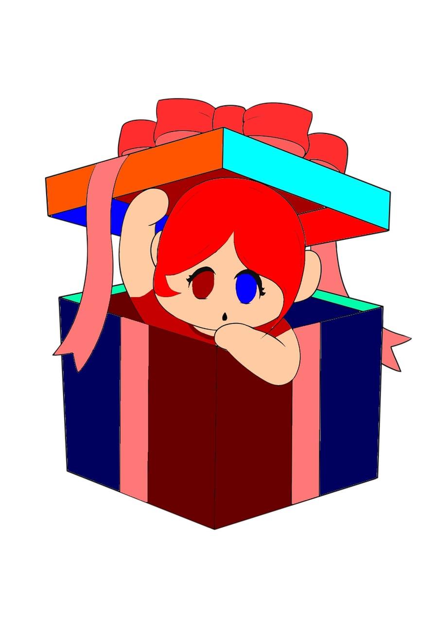 Rainbow baby gift Illust of @Dielyn_Llena21 tracedrawing4th