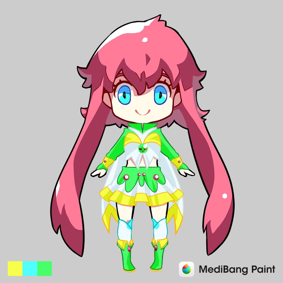 161948314620 Illust of Karenhc anime Dress-up_Challenge fanart kawaii digital cute drawing beautiful color medibangpaint