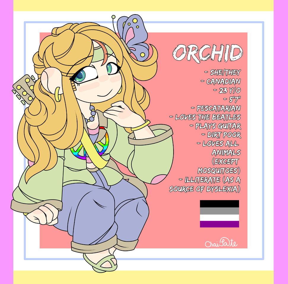 New O.C. Reference: Orchid