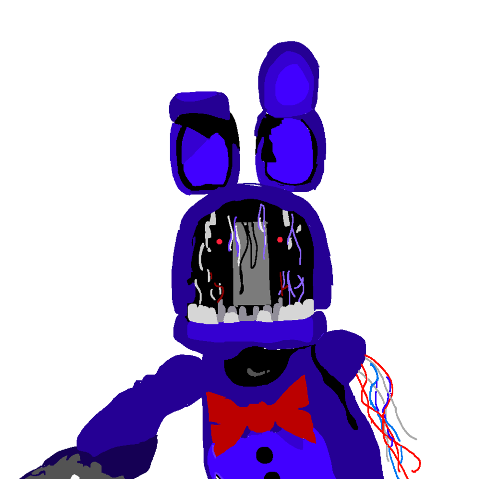 Five Nights At Freddy's Bonnie Animated withered bonnie (five nights at freddy's 2 wintaj