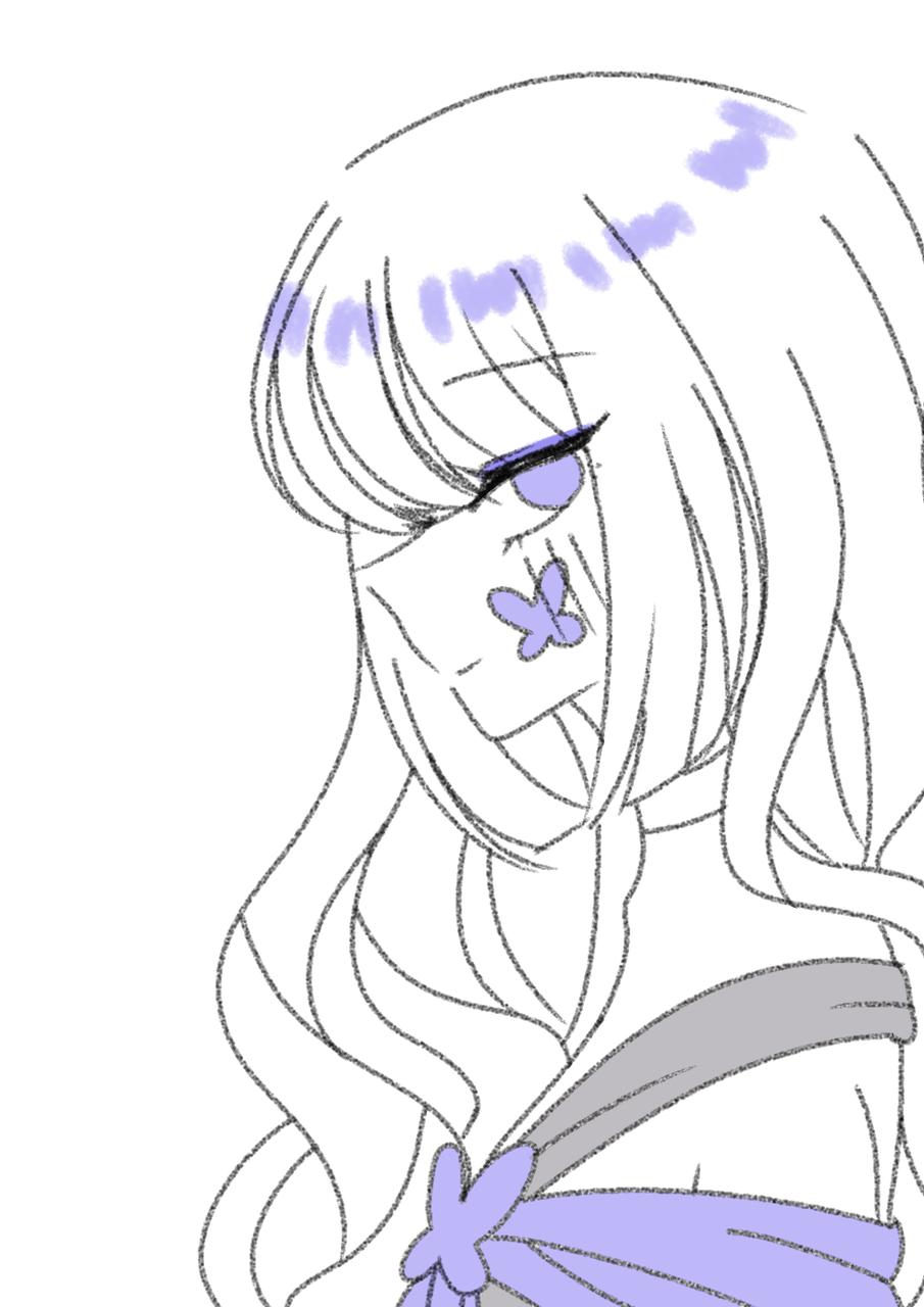 간단 낙서 Illust of 🍀엘뤼이스 medibangpaint oc doodle