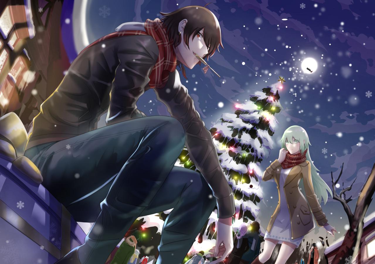 夜巡聖誕節 Illust of Zi December2020_Contest:Santa oc Christmas