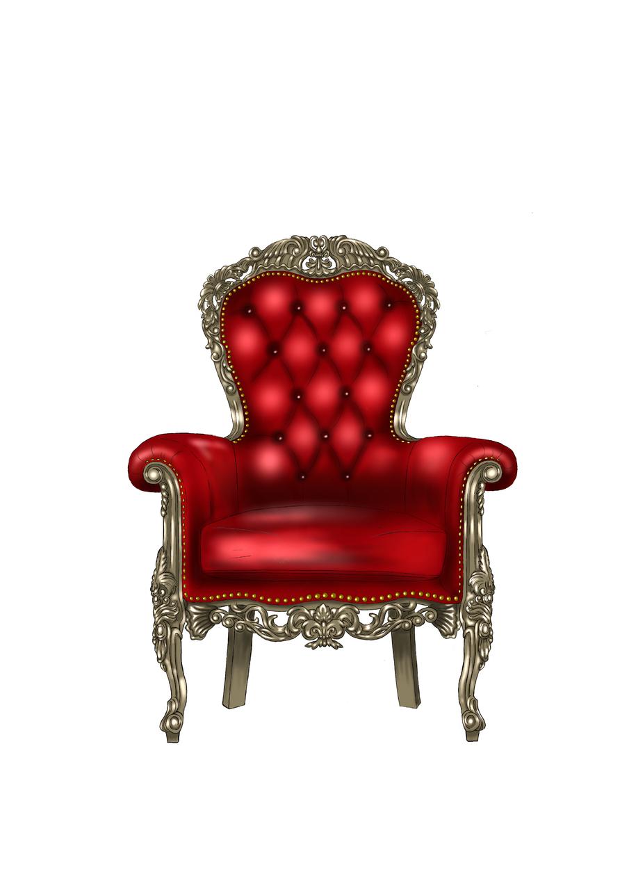 めいめいを座らせた椅子 Illust of たこやき medibangpaint