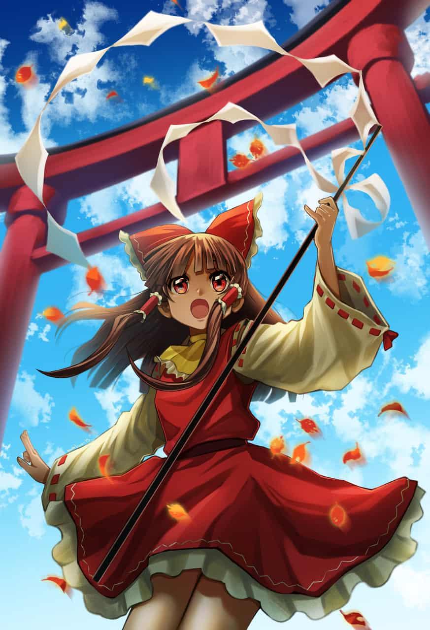 東方女の子 Illust of EUDETENIS Marisa_Kirisame girl 霧雨 Touhou_Project Reimu_Hakurei レミリア・スカーレット. 河城にとり