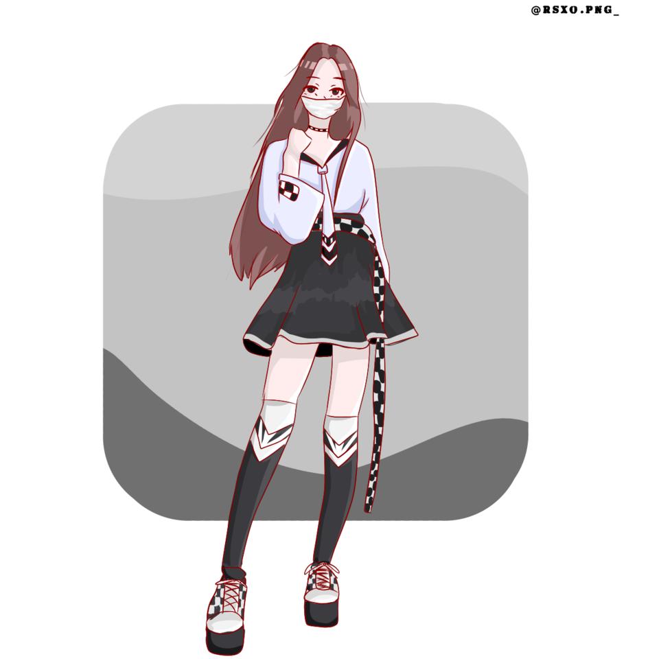 Illust of rsxo.png_ girl medibangpaint