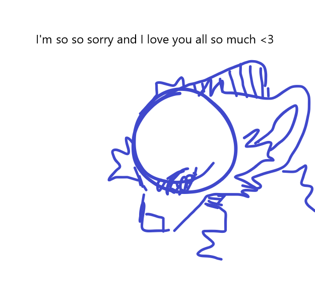 I'm leaving Medi, I'm so sorry... Illust of Sleepyxx (INACTIVE) blm sorry lgbtqrights gayrights transrights missyouguys