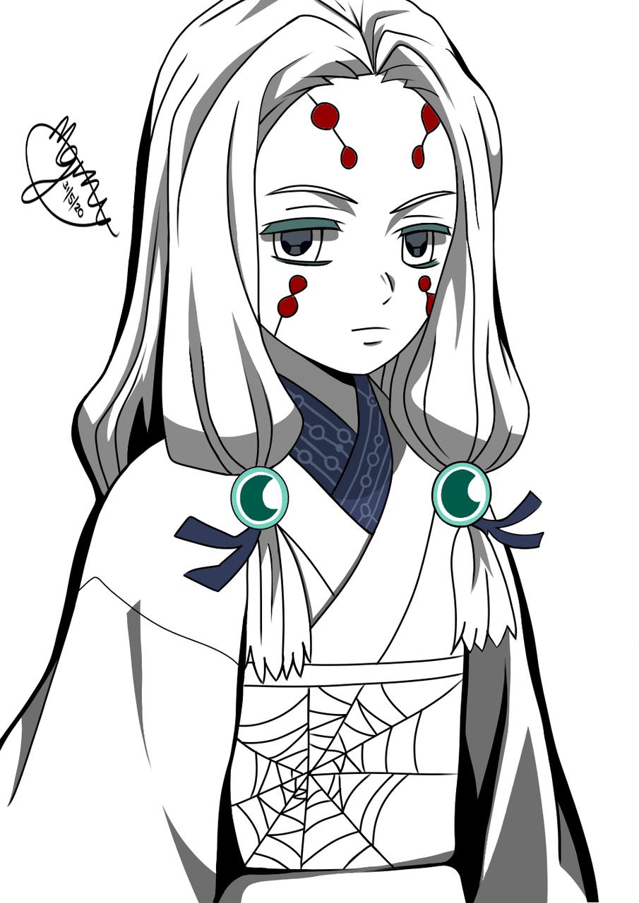 Illust of Mgray180 DemonSlayerFanartContest medibangpaint KimetsunoYaiba 累(鬼滅の刃) 累