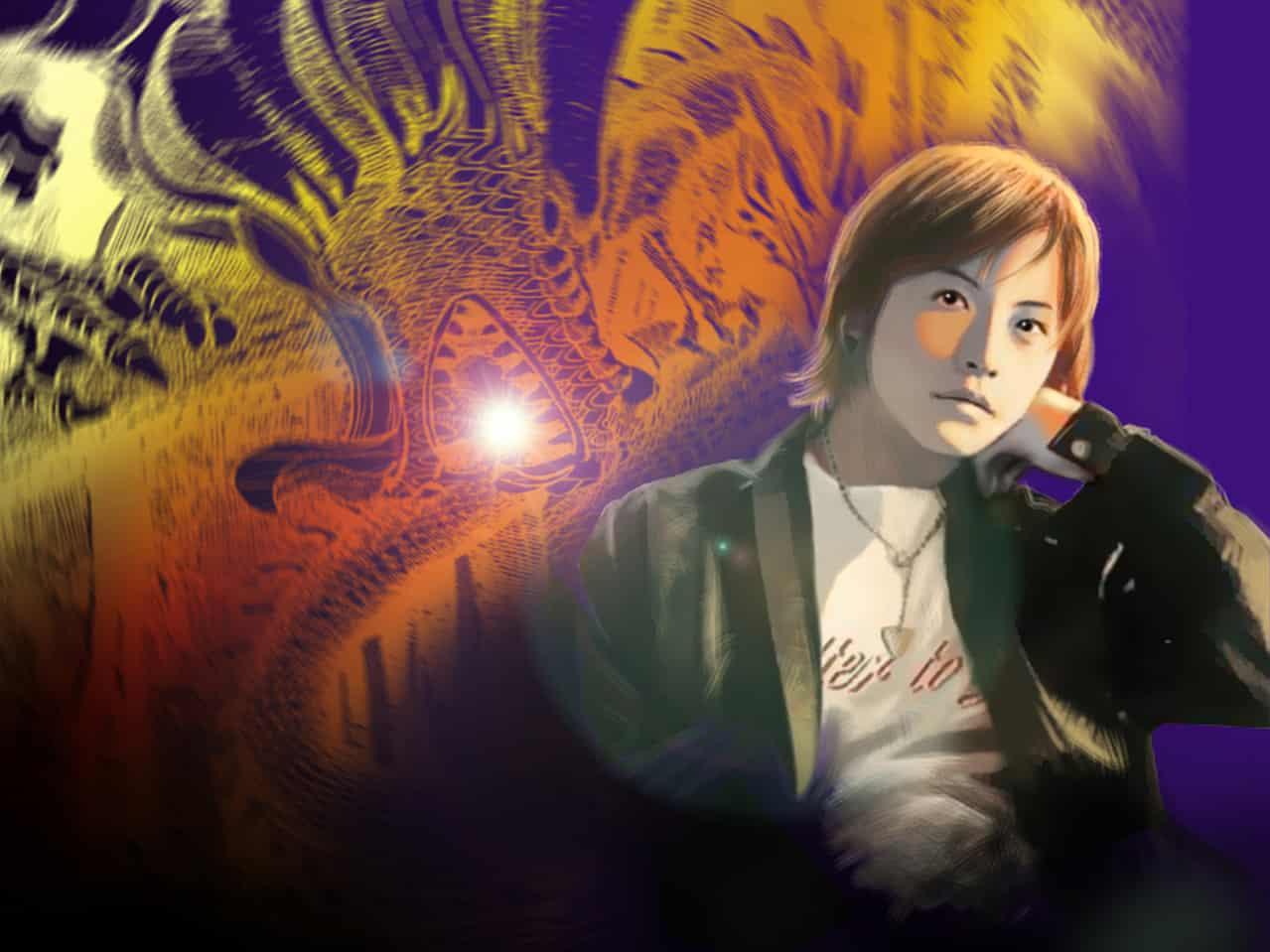 2004年幫朋友畫的日本明星,其實我都不認識XD Illust of 虎三