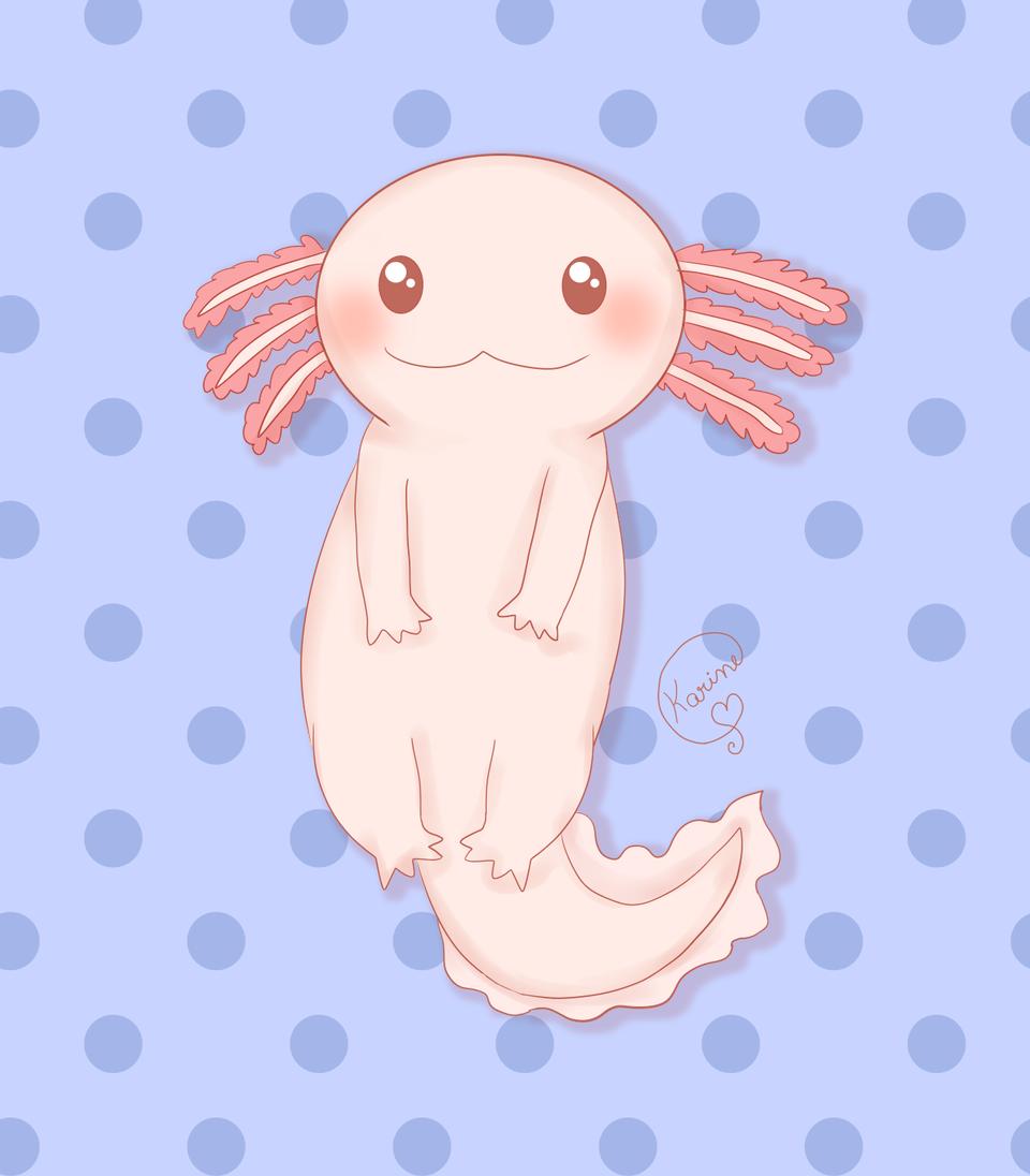 Axolotl Illust of KemyChan Axolot axolotl axolote Axolotl