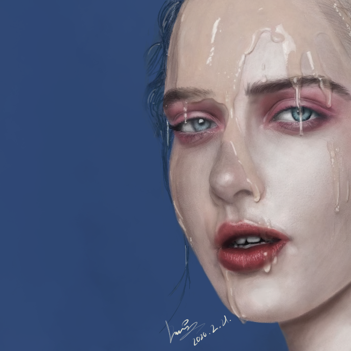厚涂练习 Illust of Density medibangpaint painting practice impasto 板绘