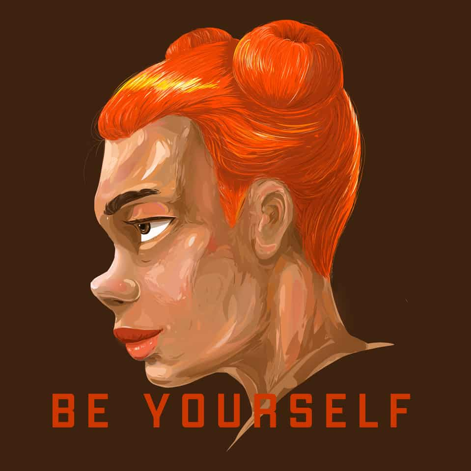 BE YOURSELF Illust of ggday April.2020Contest:Color ARTstreet_Ranking painting peace
