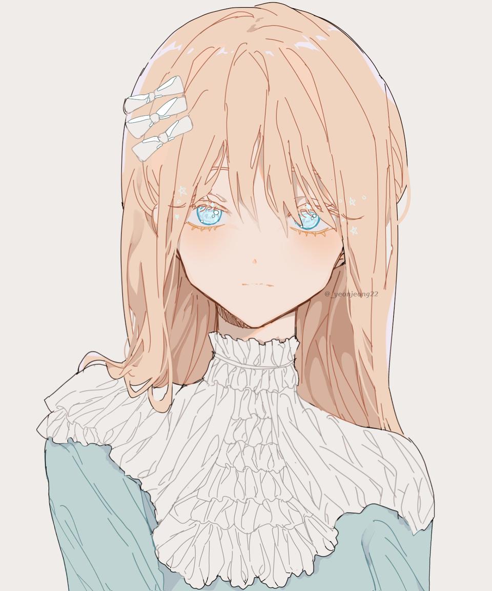 🍦 Illust of 음.. medibangpaint フリル blonde