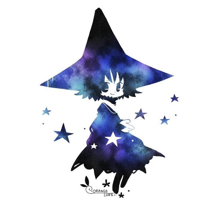私の夜 Illust of orange lore original 魔法使い
