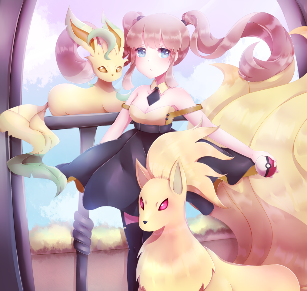 (CM) Do you want to battle? Illust of hebeta art girl commission digital cute illustration MyArt oc manga
