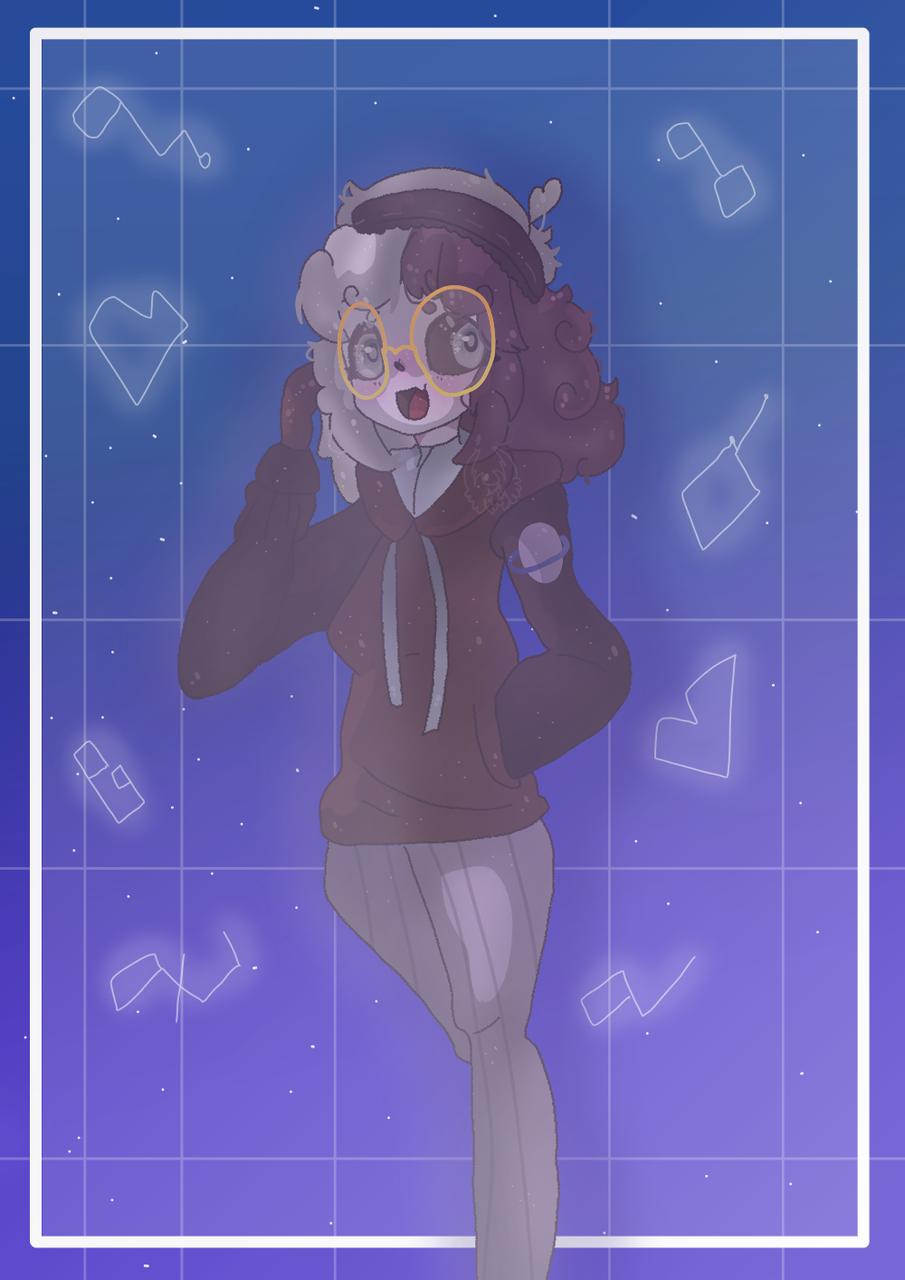 Spirit Starz Illust of Squidkid64 medibangpaint oc cute Starcross gift CrossOut