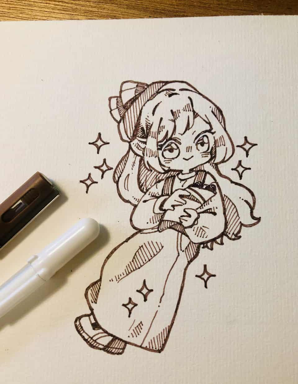 落書き Illust of 小雞撈月 doodle 代針筆