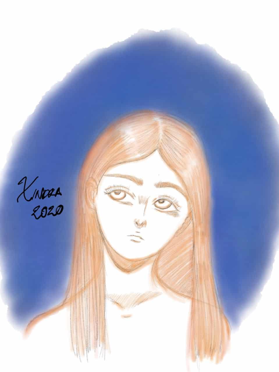 Girl  Illust of XinSan girl