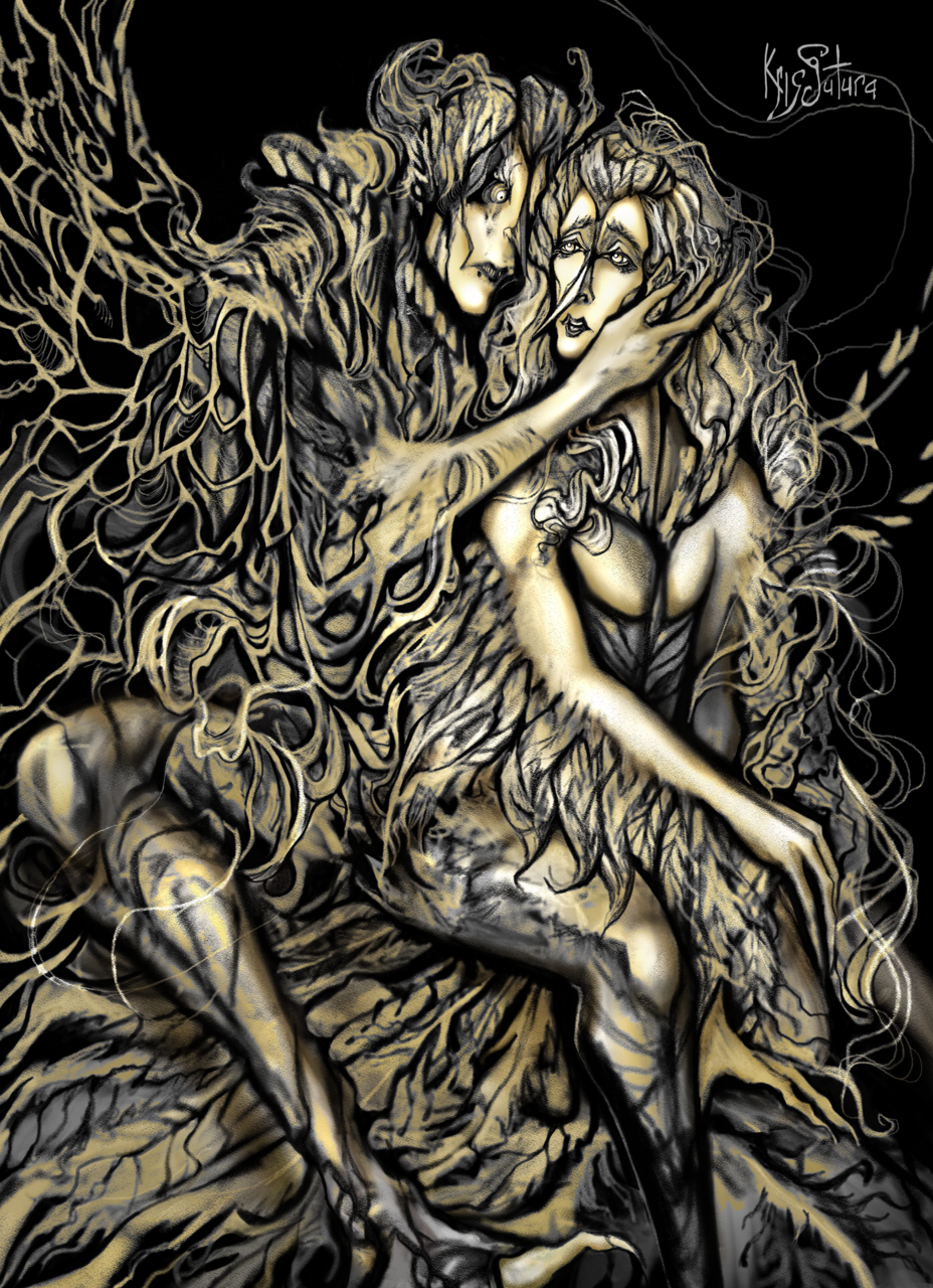 Two Birds Illust of Kristina Avanyan (Kris Sutura) March2021_Creature
