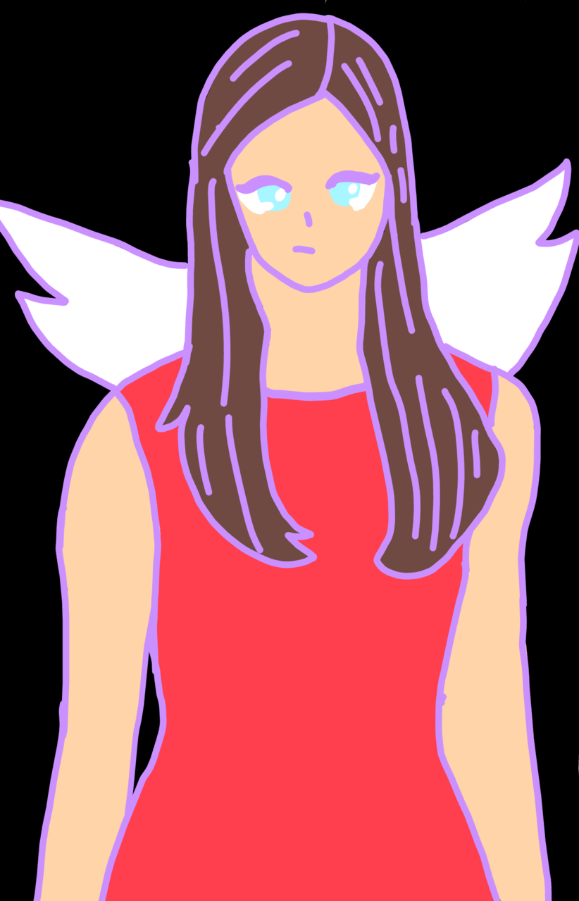 angel Illust of Lacedoodles cute angel AngelGirl anime? Artwork girl angelgirl Anime? girl,