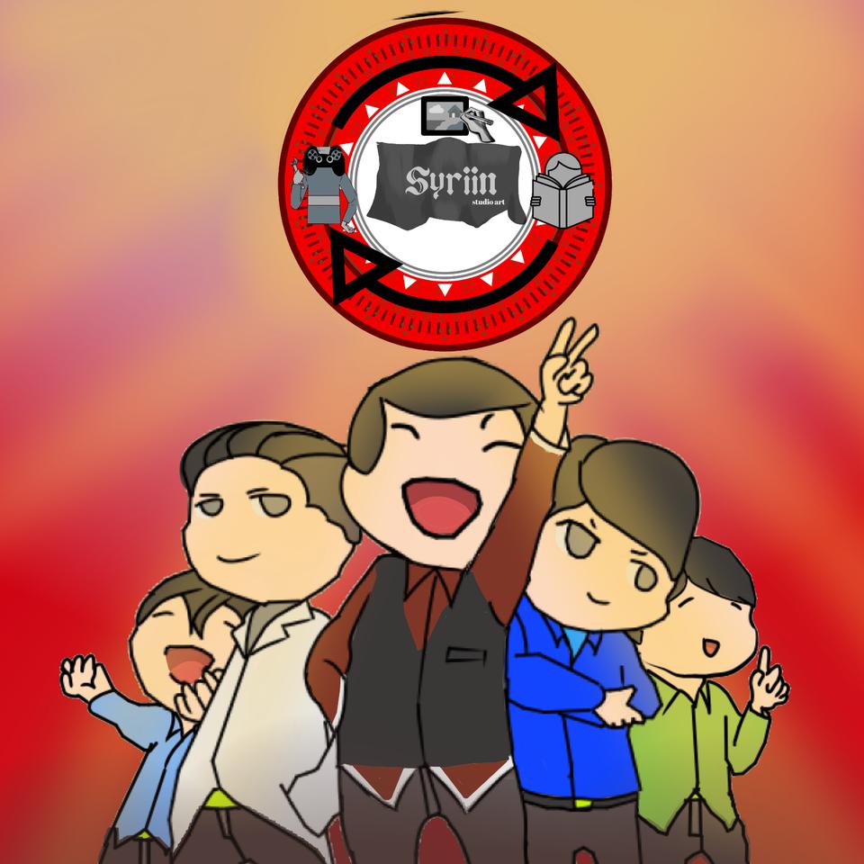LONG LIVED SYRIIN STUDIO Illust of RIELINEART medibangpaint chibi communists Japan propaganda Indonesia cute Jerman anime Indo china