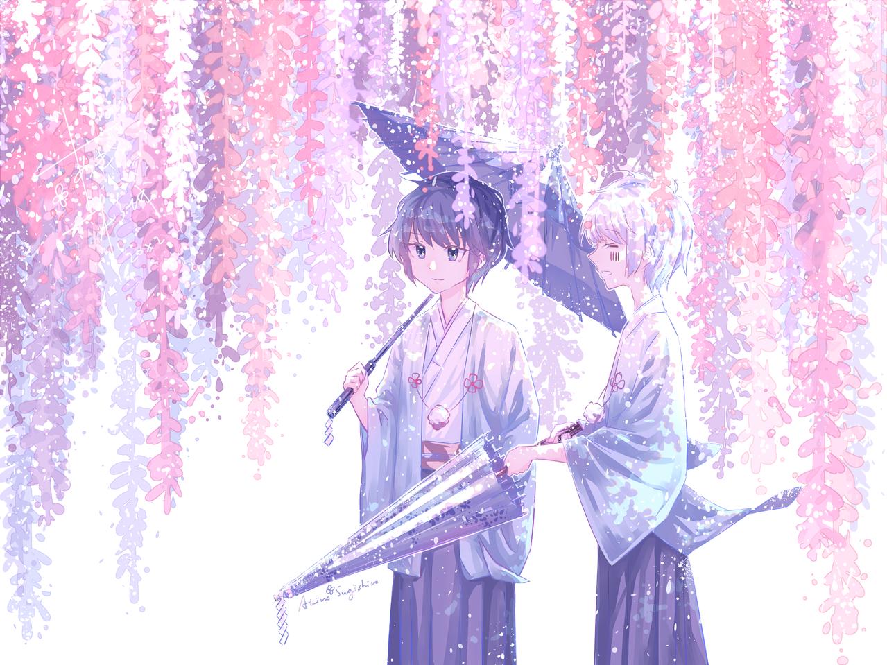 花吹雪はなふぶき Illust of Asashio杉城 mafumafu medibangpaint mafumafu&soraru AftertheRain soraru そらる AtR soramafu