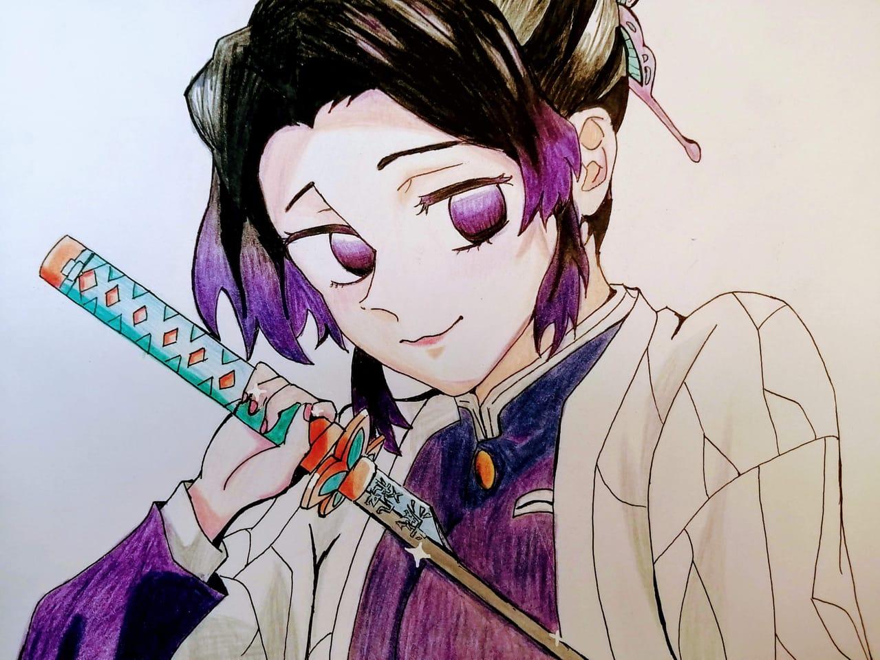 手繪也是很強的 Illust of yoyoanime1005 Emo KimetsunoYaiba AttackonTitan AnalogDrawing KochouShinobu YourName. 我想吃掉你的胰臟