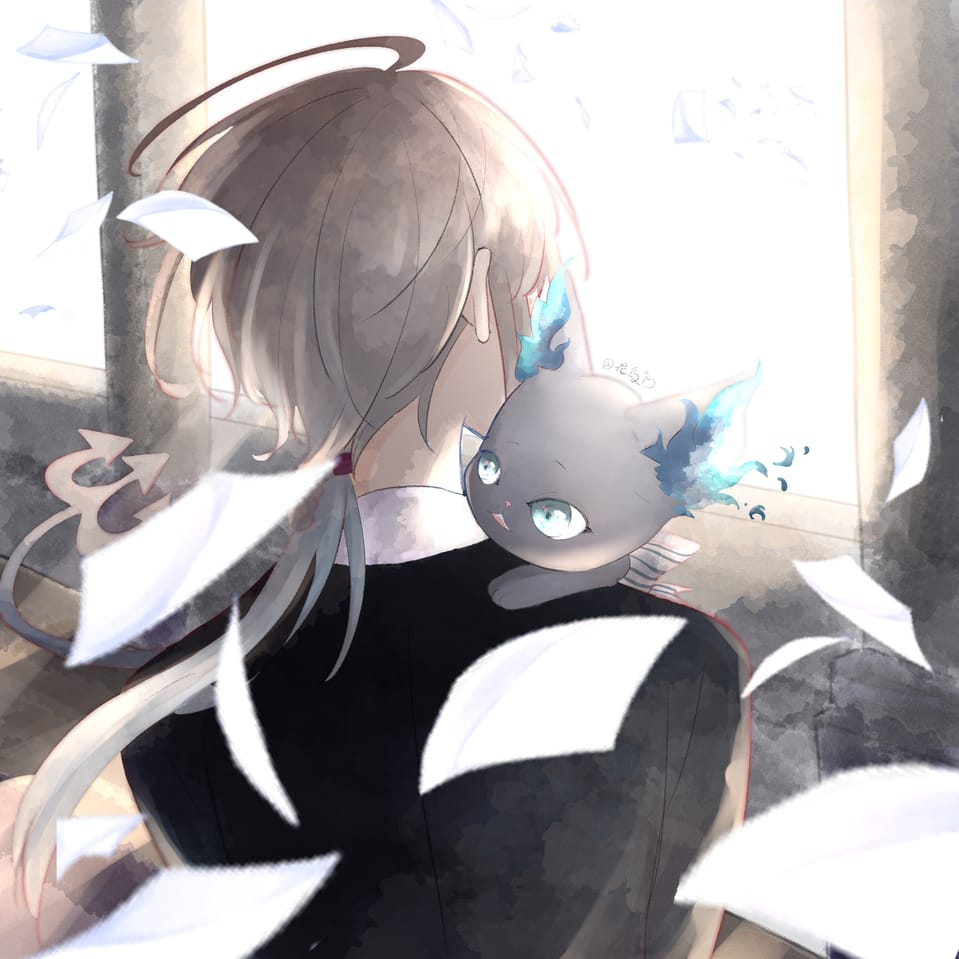 Illust of 花鳥 Twisted-Wonderland original 監督生(ツイステ) グリム