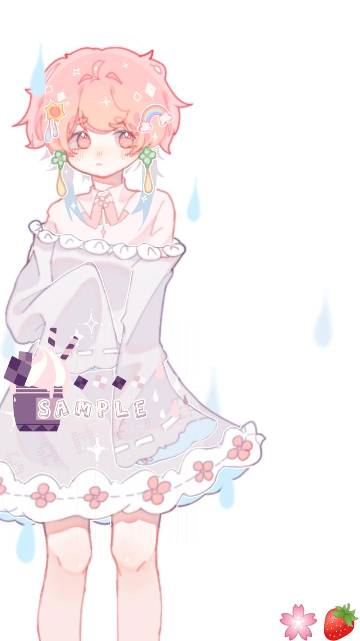 摸鱼🌈 Illust of 桜庭花莓. medibangpaint oc