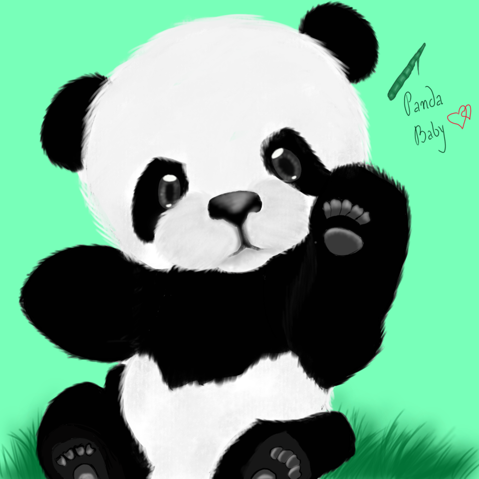 Don Don(panda)  Illust of Naname Post_Multiple_Images_Contest