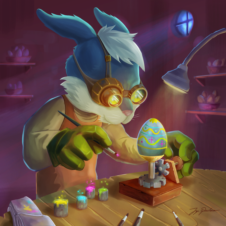 PASCUA Illust of JORGE PF March.2020Contest:Easter