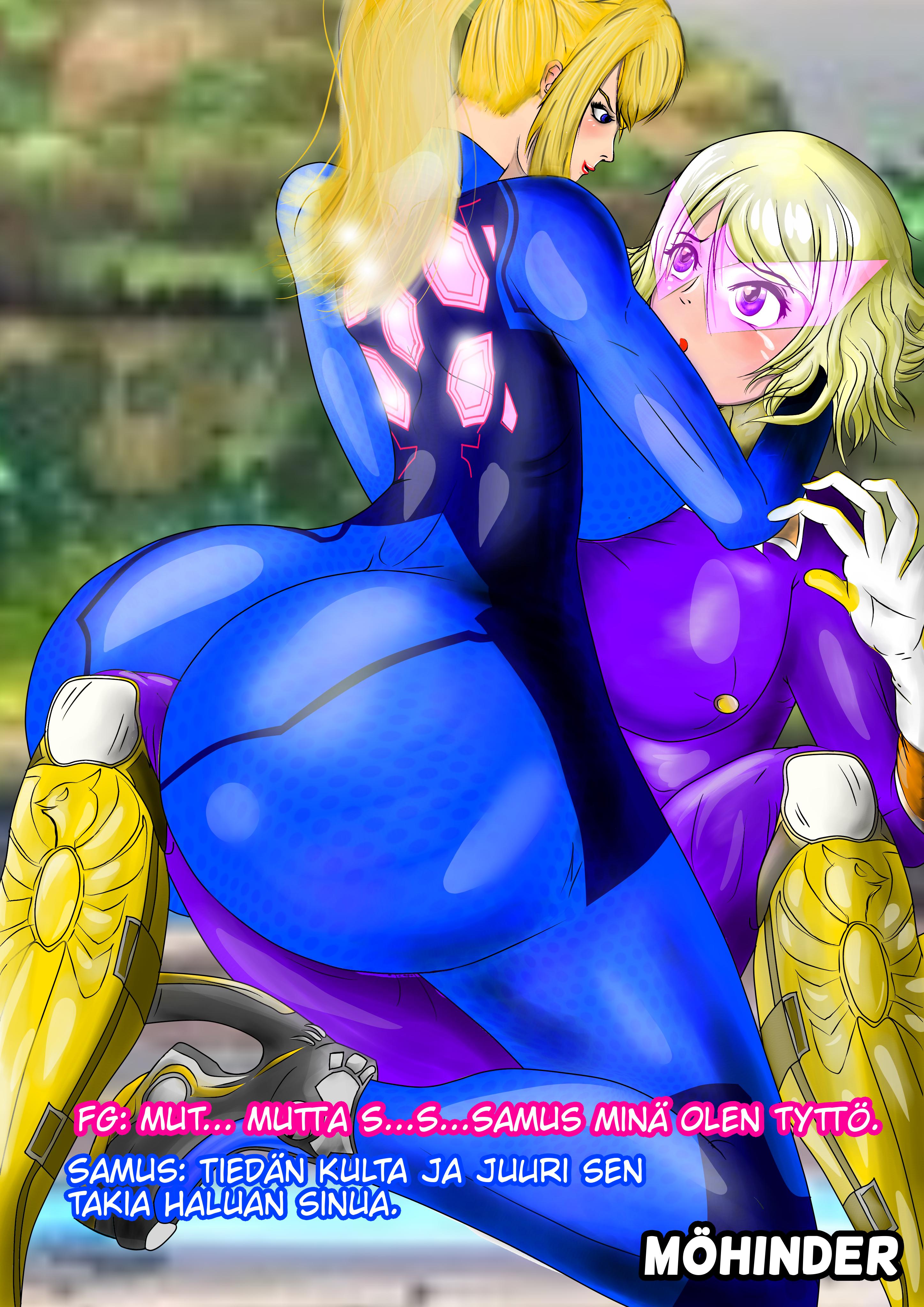 Sexy samus Is Zero