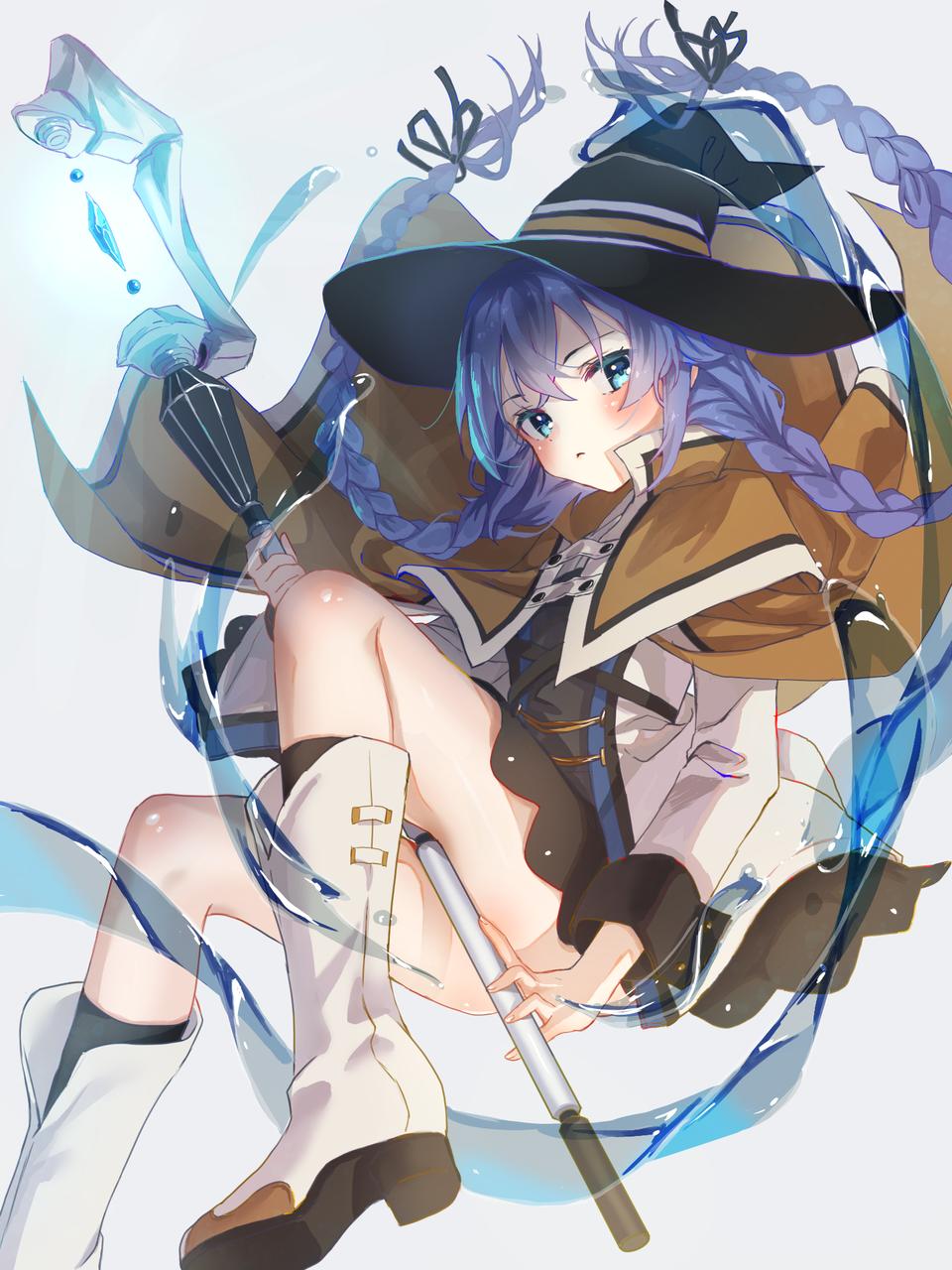 ロキシー Illust of なむ medibangpaint 魔法 water girl 無職転生