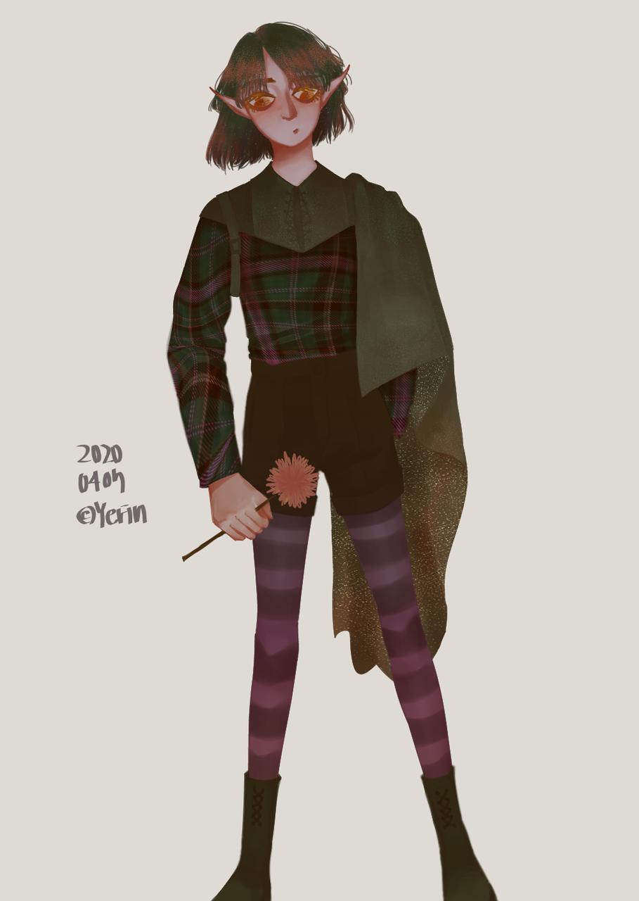 Illust of 하나두울 medibangpaint elf