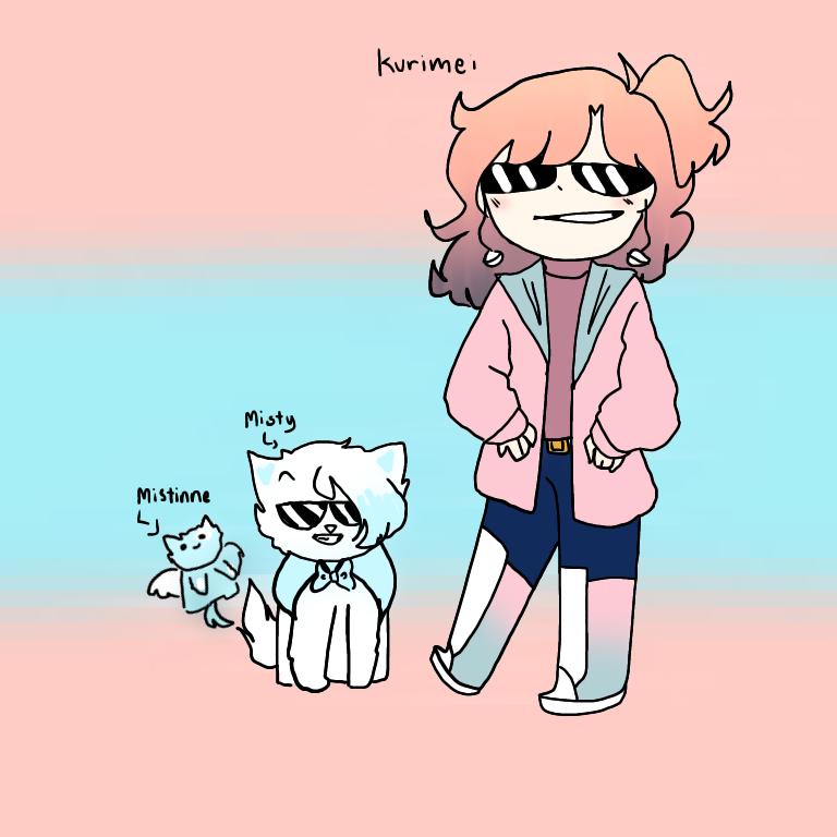 Doodle + Kitty adopt from DB :) Illust of DreamiiKuri | Drèam mode©️ oc Adopt