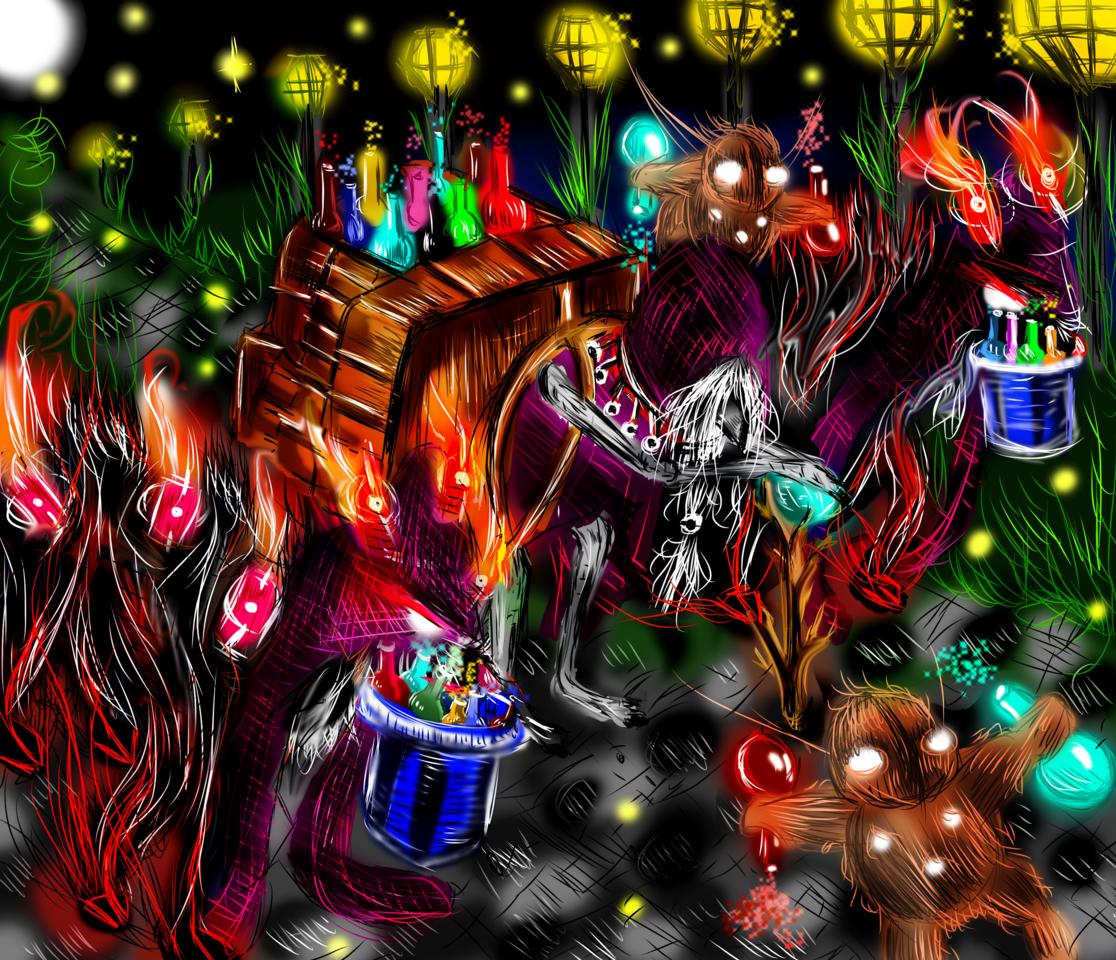 Potion dealer Illust of AcP February2021_Fantasy