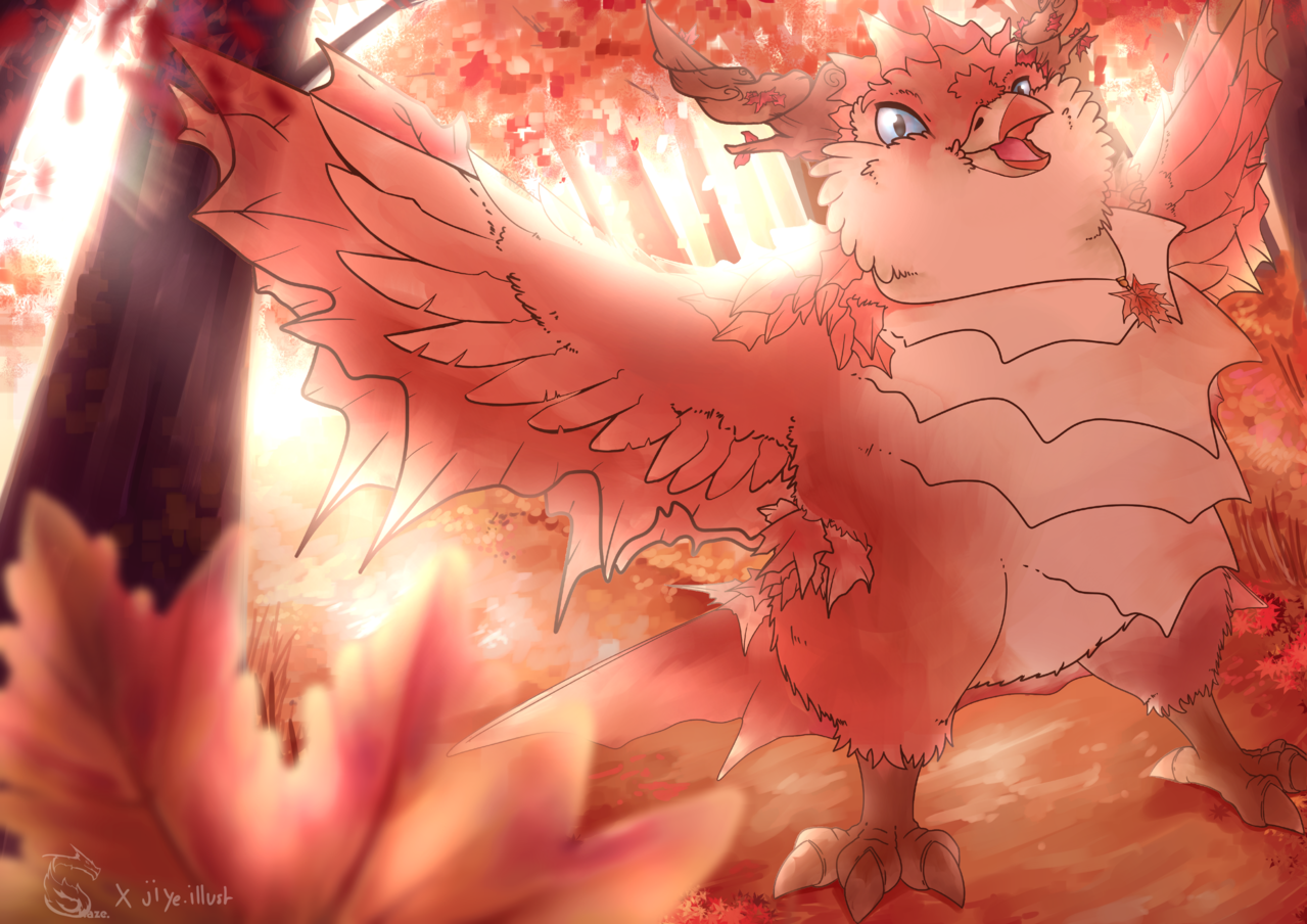 Birb of Autumn