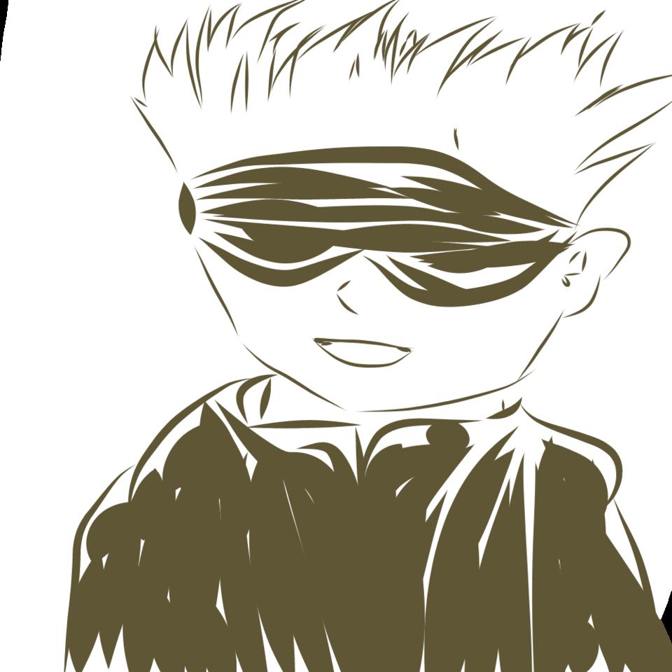 落書き五条先生 Illust of 柚鬼 JujutsuKaisenFanartContest メディバンペイント クオリティ期待しないでね illustration 五条先生 JujutsuKaisen medibangpaint doodle SatoruGojō digital