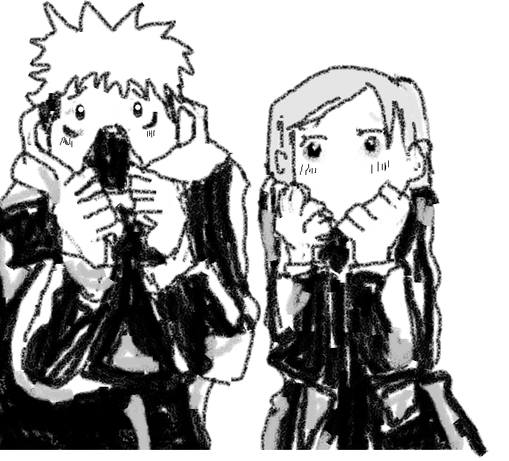 Yuji Itadori &Nobara Kugisaki Illust of Lokerbomd JujutsuKaisenFanartContest Nobara_Kugisaki fanart Yuji_Itadori JujutsuKaisen